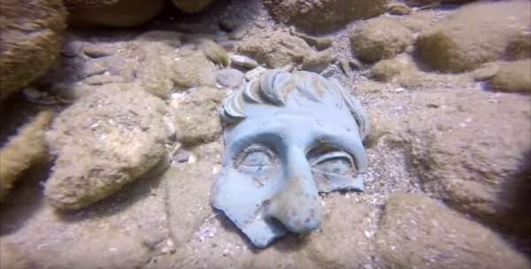 Roman shipwreck, Caesaria, Israel Anitiquites