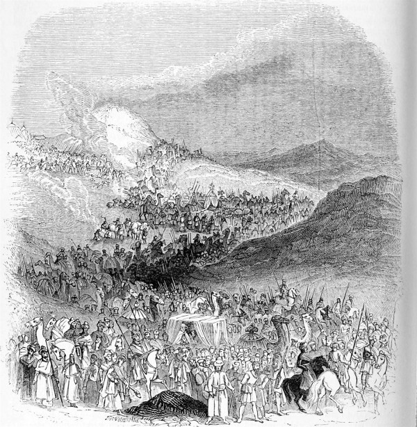March of the Pilgrim Caravan