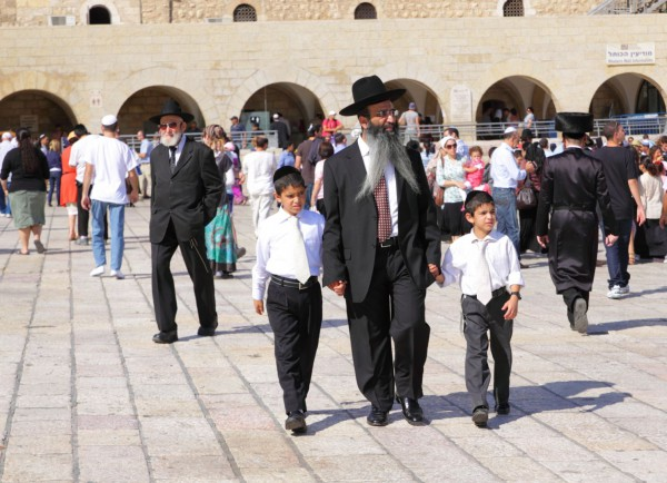 Father, sons, Jerusalem, Family