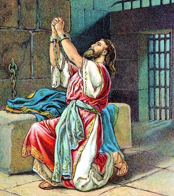 Manasseh repents in Babylon
