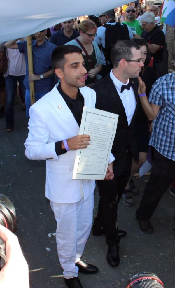 gay marriage Israel, Jerusalem gay pride parade 2016