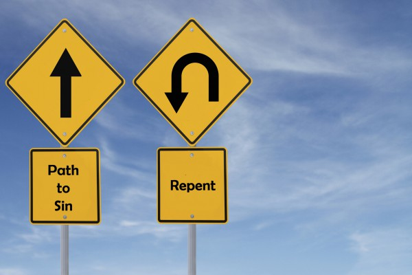 signs, path to sin, repent