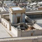 second temple, herod's temple model
