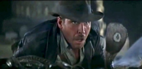 "Indiana Jones ""Why did it have to be snakes?"""