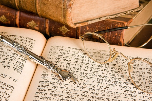 Torah and yad (pointer)