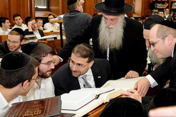 Mir Yeshiva in Mea Shearim, Jerusalem, is one of the largest yeshivas (Jewish seminaries) in the world with over 6,000 students. (Flickr: Tel Aviv Embassy, photo by Matty Stern)