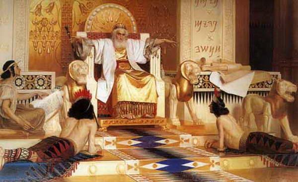 """King Solomon: """"Vanity of vanities; all is vanity,"""" by Isaak Asknaziy (1856–1902)."""