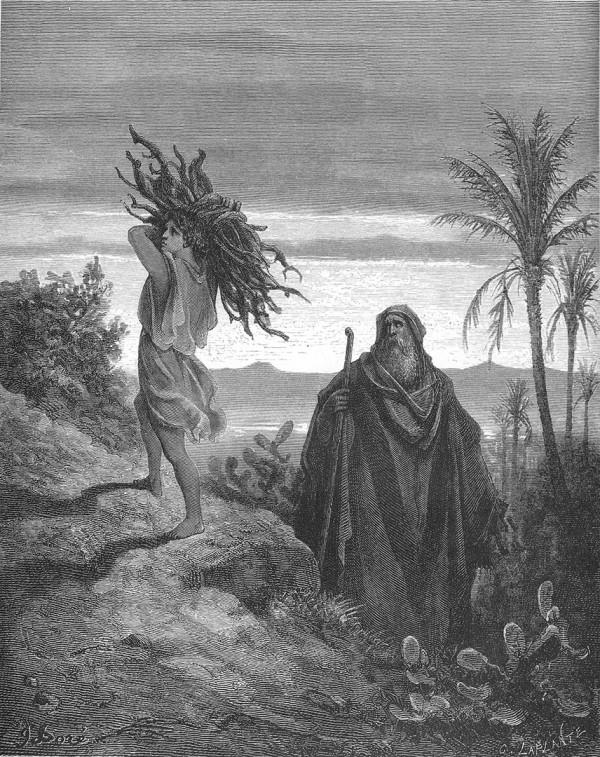 Testing of Abraham's Faith, Gustav Dore