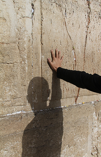 16443051 - unidentified jews pray at the western wall