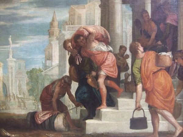 Departure of Israelites from Egypt (Wikicommons)