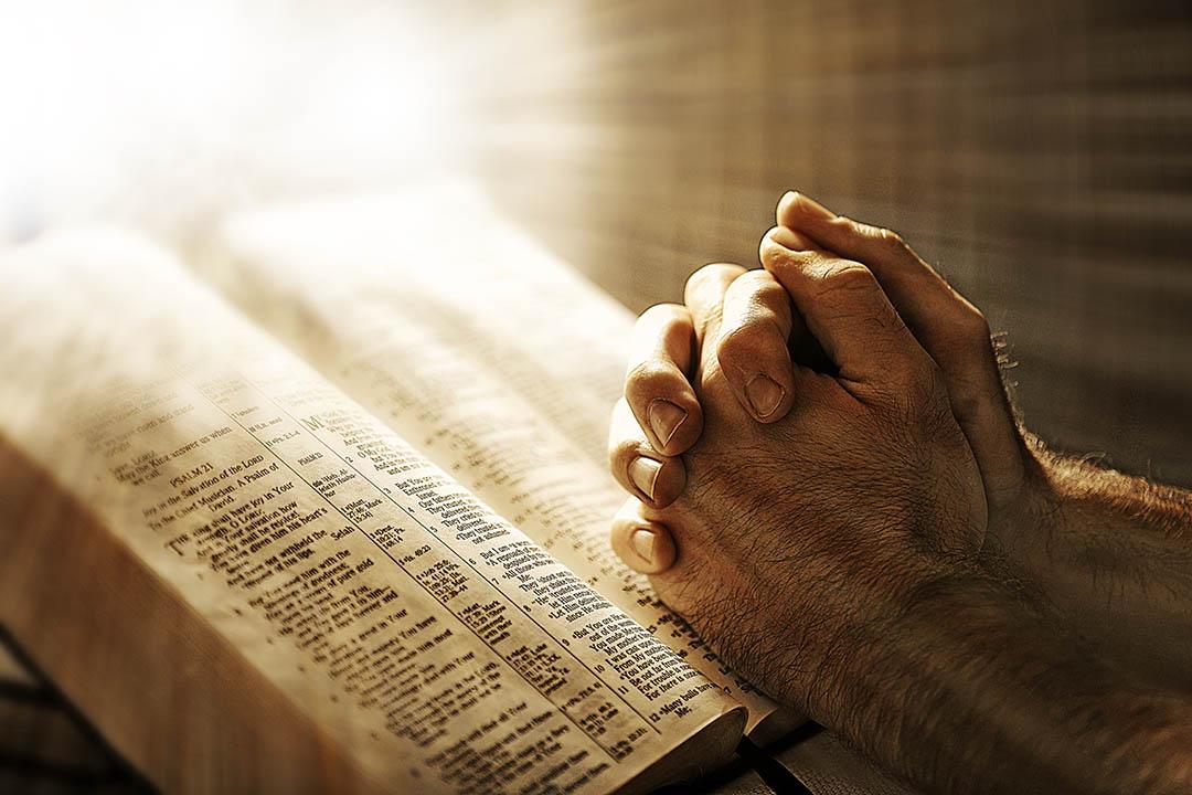 praying hands, Bible