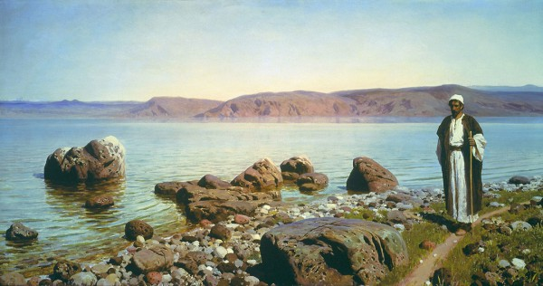 On the Sea of Galilee (1888), by Vasily Polenov