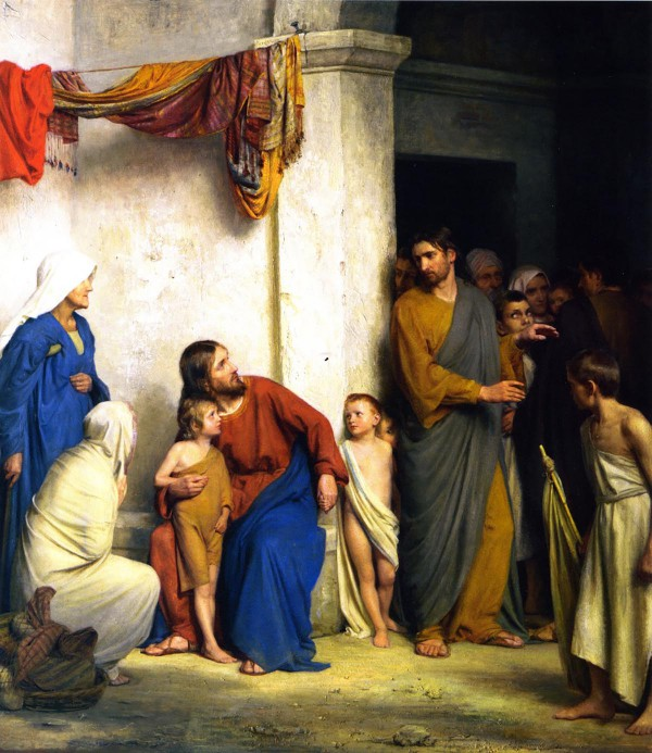 Let the Little Children Come, by Carl Bloch.