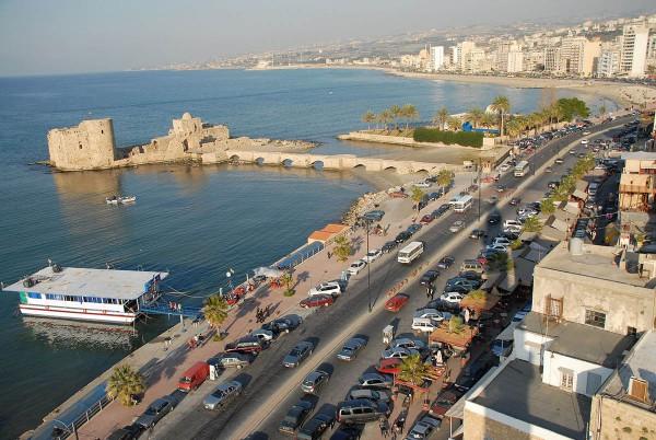 Modern Sidon, Crusader Sea Castle,