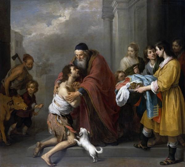 Return of the Prodigal Son (c. 1670) by Bartolome Esteban Murillo